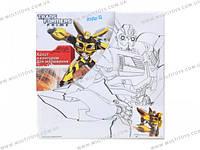 Холст с контуром 20х20 см Transformers /1/24/96/(TF14-216K)