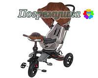 Детский трехколесный велосипед Crosser T 350 Eco - Коричневый