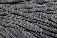 Шнур 6мм ак. гладкий (100м) черный