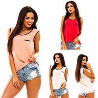 Майка - блузка «Оливия» 40-48 цена 95грн.