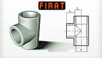 Тройник Ø20 полипропиленовый  Firat