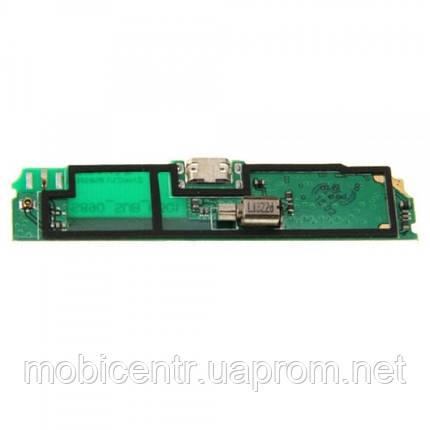 Шлейф для Lenovo S890, с разъемом зарядки, с микрофоном, с виброзвонком, фото 2
