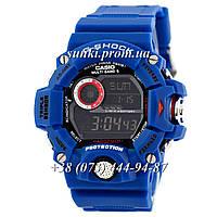 Неубиваемые спортивные наручные часы Casio G-Shock GW-9400 Blue