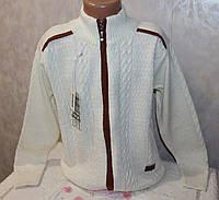 Вязанная кофта на мальчика 10-11,12-13,14-15 лет