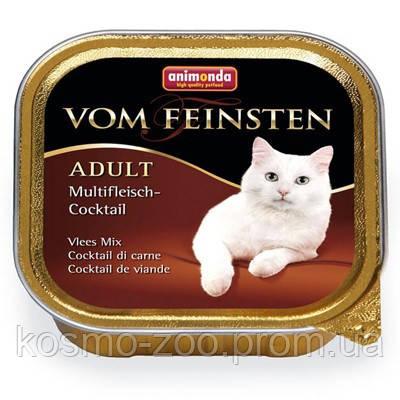 Анимонда консервы для кошек мясной коктейль 100гр