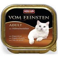 Анимонда консервы с куриной печенью для кошек 100гр