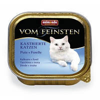 Анимонда консервы с индейкой и форелью для кастрированных кошек 100гр