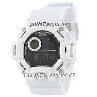 Неубиваемые спортивные наручные часы Casio G-Shock GW-9400 White