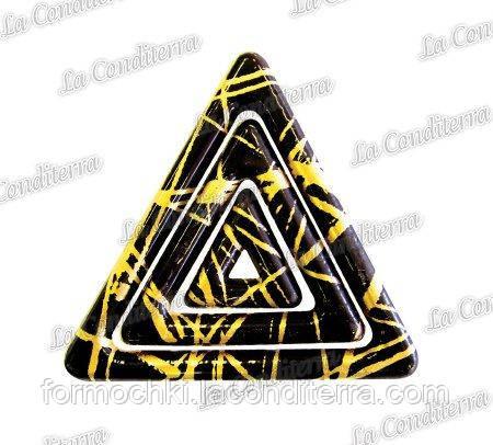 Поліетиленова форма з перевідними малюнками для шоколаду PAVONI Т406