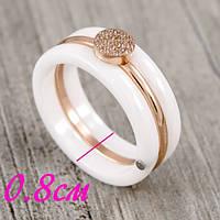 Кольцо керамическое «Бесподобное III»