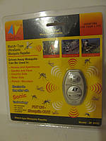 Ультразвуковой отпугиватель комаров  Ultrasonic Mosquito Repeller ZF 800Е карманный портативный