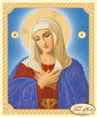 Схема для вышивки бисером икона Божией Матери Умиление, фото 2