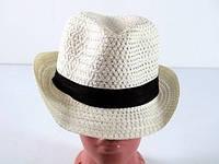 Шляпа  мужская соломенная Бевьер