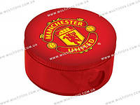 Точилка с контейнером кругл. Manchester United /24/720//(MU14-116К)