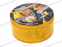 Точилка с контейнером кругл. Transformers /24/960//(TF13-116К)