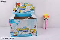 """Мыльные пузыри 111-2 """"Sponge Bob"""" с молоточком /12/288/(111-2)"""