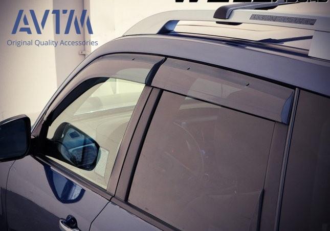 Дефлекторы окон (ветровики) Subaru Forester 2008-2013