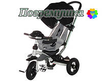 Детский трехколесный велосипед Crosser T 350 Eco - Черный
