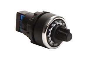 Потенциометр BPR01K 1кОМ одинарный с круговым перемешением EMAS - Инвест-Электро в Житомире