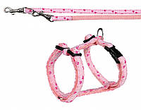 Перестежка+шлея Trixie Modern Art Puppy Harness для щенков нейлоновая, 23-34 см, фото 1