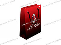 Пакет бумажный подарочный, 26х32см Milan /5/140//(ML14-266K)
