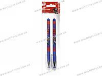 Ручки шарик., синие 2 шт. в пакете 20х6х1см /48/384/(TRBB-US1-116-H2)