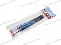 Ручки шарик., синие, 2 шт. пакет 20х6х1см, /48/384 шт.(PLAB-US1-116-H2)