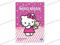 Картон белый двустор. (10л) A4 Hello Kitty /1/100//(HK12-254K)