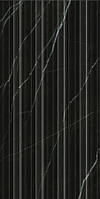 30х60 Керамическая плитка стена ABSOLUTE MODERN  черная