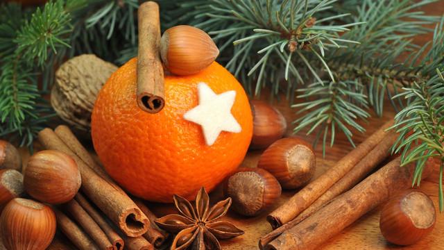 Аромакубики Апельсин и корица