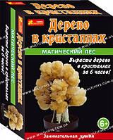 """Набір для дослідів """"Сад пухнастих кристалів. Магічний ліс"""" (помаранчевий) 12138009Р(260)"""