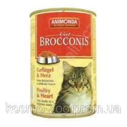 Анимонда (Animonda) Броконис консервы для кошек  домашняя птица и сердце 400 гр.