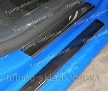 Накладки на пороги Seat Ibiza 3 5D (накладки порогов Сеат Ибица 3)