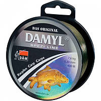 АКЦИЯ! Леска DAM DAMYL Spezi Line Carp 0,30мм 400м 7,6кг (silt-brown)