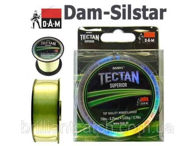 Леска DAM Tectan Superior 150м 0,23мм 4,66кг (салатовая)