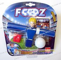 Набір для гри у футбол. 1 футболіст, 1 м'ячик, картки. (Синій)(30405-GL)