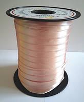 Атласная лента 10 мм - цвет пудра