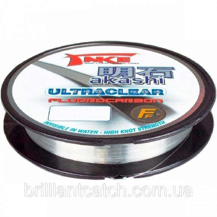 Леска Lineaeffe Take AKASHI Fluorocarbon 100м. 0.28мм  FishTest 11.50кг  Made in Japan