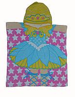 Полотенце с капюшоном для девочки .