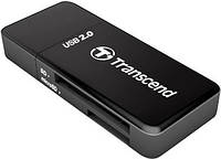 Кардридер TRANSCEND Cardreader TS-RDP5 5-in-1USB 2.0 Black