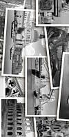 Керамическая плитка декор Абсолют Absolute Collage черно-белый, фото 1