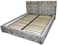 Кровать-подиум Квадро (вкладной каркас на буковых ламелях с пневматическим подъемным механизмом)