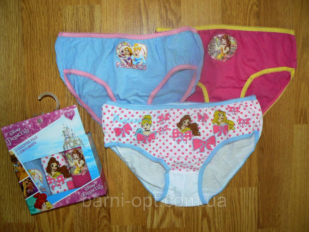 Трусики для девочек оптом Princess, Disney, 2/3-6/8 рр