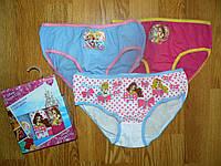 Трусики для девочек оптом Princess, Disney, 2/3-6/8 рр, фото 1
