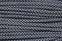 Шнур 6мм с наполнителем (100м) т.синий+белый, фото 1