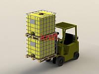 Емкости в каркасе для перевозки пищевых и агрессивных веществ