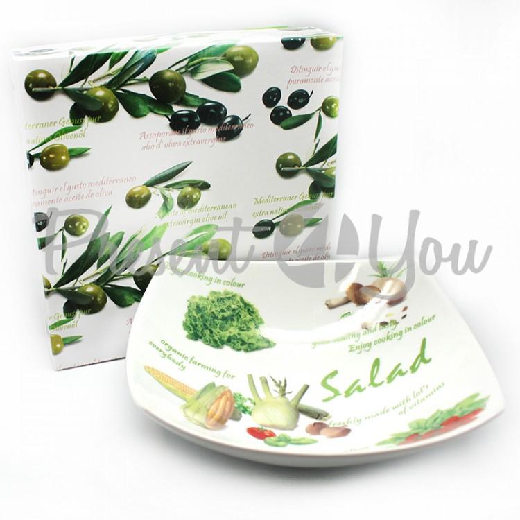 Салатник, h-7,5x21x21 см (426-8083)