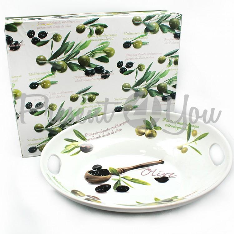 Блюдо «Оливки», h-9x33х26,5 (426-8061)