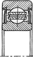Подшипник качения шариковый радиальный однорядный с двумя защитными шайбами 80902 Подшипник (ГОСТ)