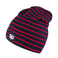 Комплект для мальчика трикотажный шапка и снуд TuTu 3-003629/3-003576